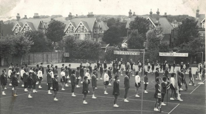 All the teams line up for the 1st World Tournament, Eastbourne. | Harry C Deal