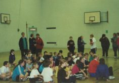 2000 High Five at St. Guthlac School, Peterborough, May