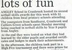 2001 High Five and Skills Award Day, Angley School, Cranbrook, Kent