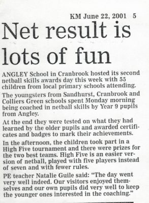 Report from the Kent Messenger