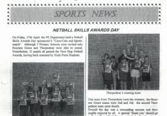 2001 Shoeburyness High School Coca Cola Skills award Day