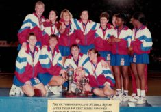 1993 England Squad for the 4-0 Test Series against Jamaica