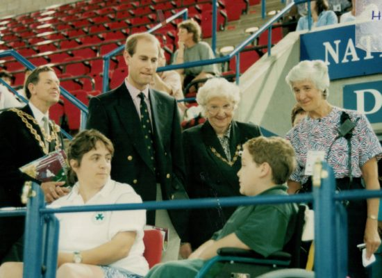 HRH Prince Edward meeting the spectators | Niels Carruthers