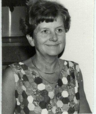 Nora Ashworth, Officer, and Life Member