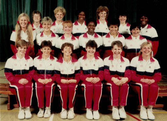 1986-1987 England Senior & 7th World Tournament Squad