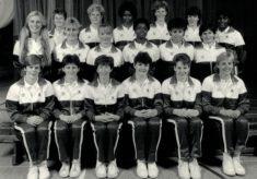 1986-1987 England Senior Squad