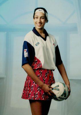 Geva Mentor, July 1999 in England 2000 squad attire
