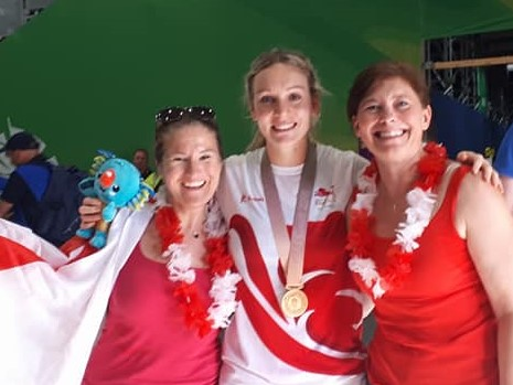 2018 England win GOLD at the 2018 Commonwealth Games, Gold Coast, Australia