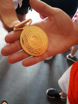 THE GOLD MEDAL !   2018 Commonwealth Games Gold for England