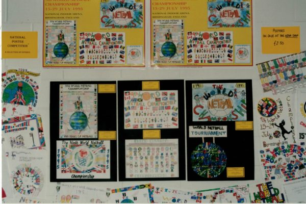 Selection of some of the entries in the National Poster Competition.