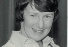 Sylvia Eastley, Bedfordshire, Editor of Netball Magazine, and umpire