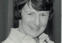 Sylvia Eastley, Bedfordshire, Editor of Netball Magazine, and umpire