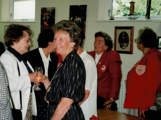 Eileen Brewer, Cheryl Dewhirst, Joan Mills, Mary French, Phyllis Ridgewell