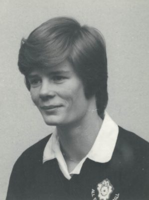 Colette Thomson, England player