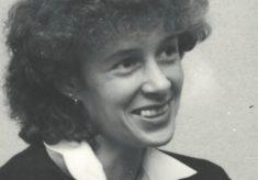 Sue Collins, England player