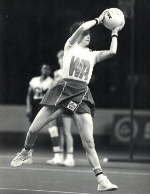 1984 England v Jamaica, Wembley, 24th November, Sugar International Trophy   Eileen Langsley