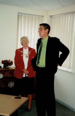 Opening Pat Taylor Room, Hitchin