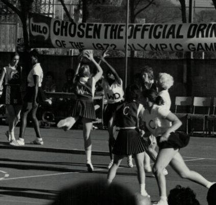 Toss up from Mary Thomas, umpire won by England WA.  1/4/72
