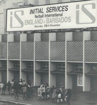 Fans arriving at Wembley for the Initial Services International England v Barbados