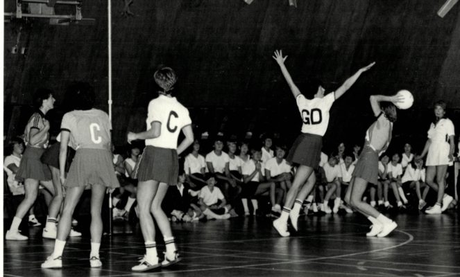 Umpire Margaret Garnham
