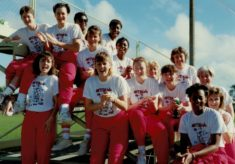 1991 Tri-Series, April