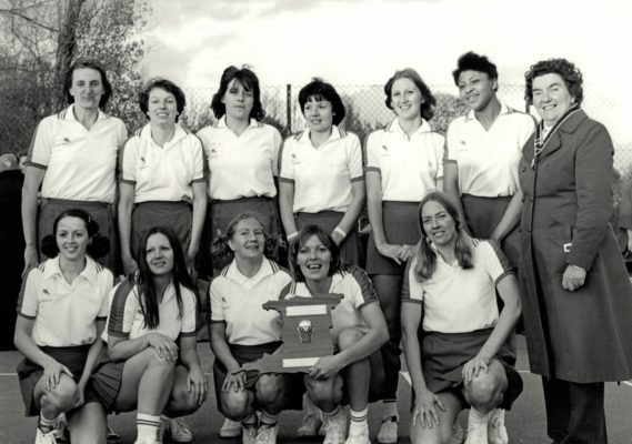 East Region Squad, winners of the Regional Tournament, with Mary French, AENA.  Also some players who went on to England duty. | Brian Worrell