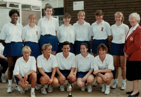 East Region Senior Squad with Jean Bourne | Sandra Smith