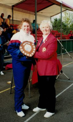 Division 6 winners - North Durham presented by Jean Bourne
