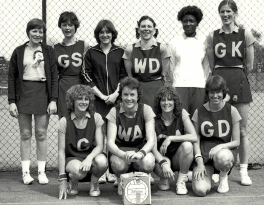 Runners-up West Ham Squad.  Some interesting names in this squad. Looks like Heather Crouch back row right and in the front row WA Linda Dyer and GD  Gill White