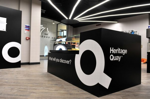 Foyer of the Heritage Quay archive