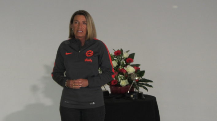 Joanna Adams; CEO of England Netball