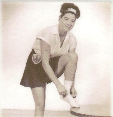 Betty Burke – GA – played in the 1963 World Tournament – from Northumberland.   This was her only World Tournament.