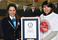 2016 England Netball 90th exhibition match for Sport Relief