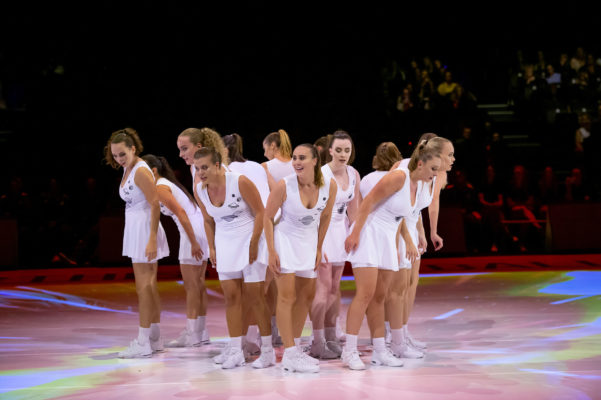 Picture by Allan McKenzie/SWpix.com - 12/07/2019 - Netball - Vitality Netball World Cup - Opening Ceremony - M&S Bank Arena, Liverpool, England - The opening ceremony dancers.