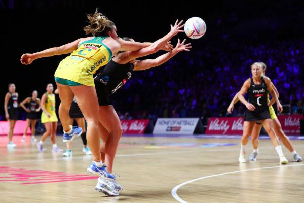 Picture by Alex Whitehead/SWpix.com - 21/07/2019 - Netball - Vitality Netball World Cup 2019 final - Australia v New Zealand - M&S Bank Arena, Liverpool, England - Liz Watson of Australia. | SWpix.com