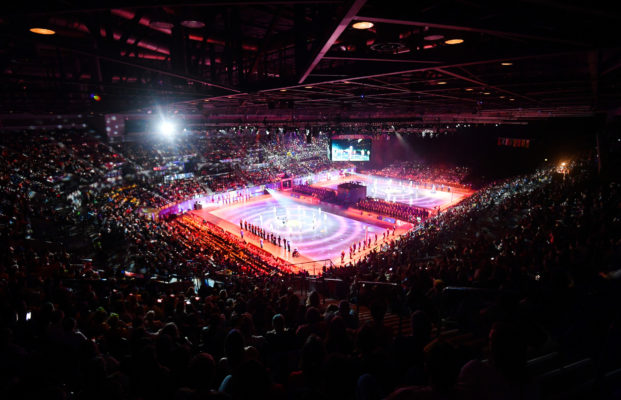 Picture by Simon Wilkinson/SWpix.com - 12/07/2019 - Netball - Vitality Netball World Cup - NWC Opening Ceremony