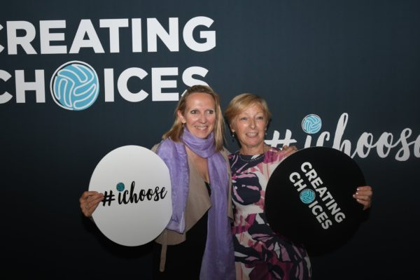 Liz Nicholl and Claire Brignall launch Creating Choices