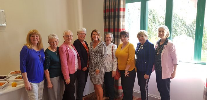 Carol Spencer, Joan Mills, Janet Wrighton, Liz Broomhead, Jo Adams, Gloria Keech, Sue Hunter, Phyllis Avery, Lindsay Sartori