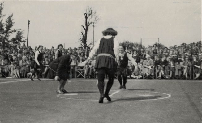 Demonstration of Rules and uniforms from 1920's