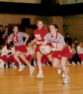 1996 England v Wales, Bunyan Sports Centre, Bedford