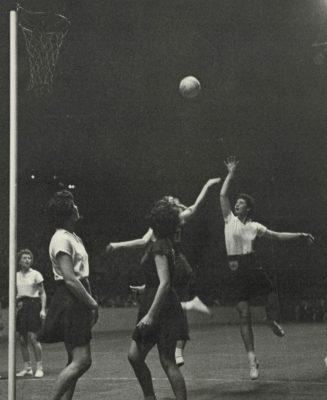 Annette Cairncross GS, shooting and Ella Frazer GA, Marlene Devine WA | The Times