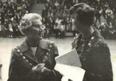 1974 Rose Harris, President and Jean Robinson