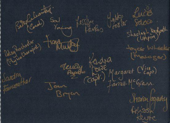 Squad signatures