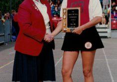 1995 Kendra Slawinski awarded the Lanier Trophy