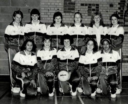 1986/1987 England U 18 Squad