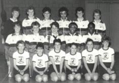 1986 England U18, UK & Ireland Tournament, 1st/2nd March, Bradford