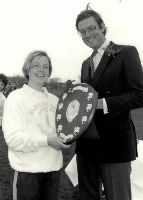 Nicky Fuller, Captain Bedford College U21 winners