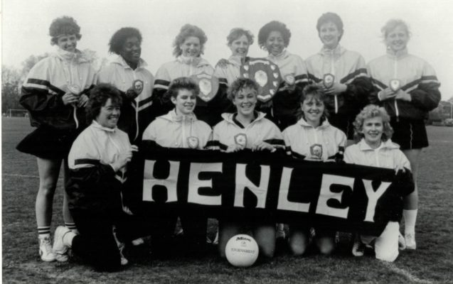 Henley College U21 winning squad