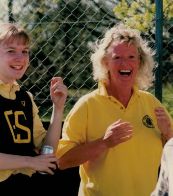 Turnford Coach Carole Titmuss is delighted