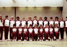 1984 England long Squad for World Games